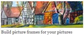 Build picture frames for your pictures